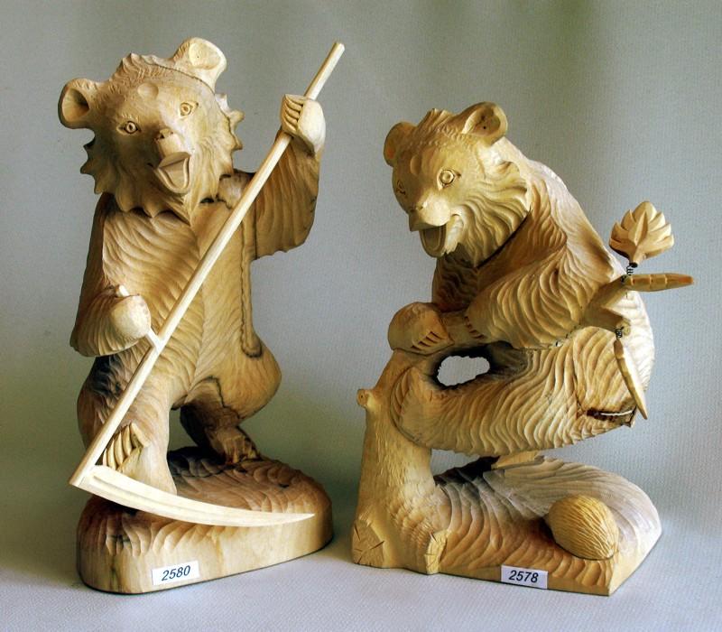 богородская резная игрушка фото